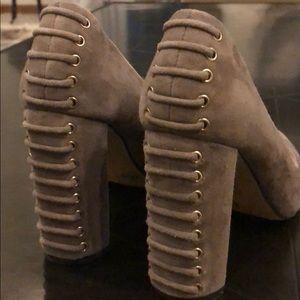 Vince Camuto suede heels